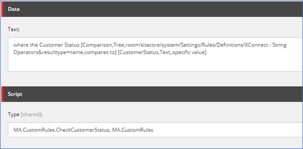 Sitecore list manager a walkthrough of segmented list from custom rules3