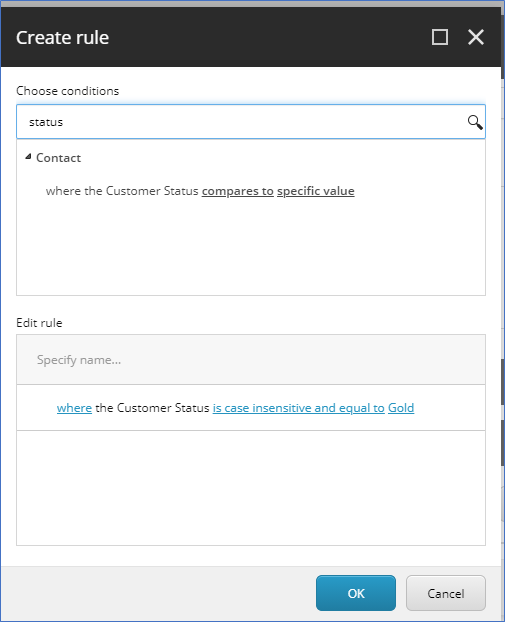 Sitecore list manager a walkthrough of segmented list from custom rules5