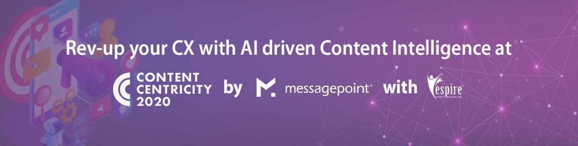 Messagepoint content centricity 2020