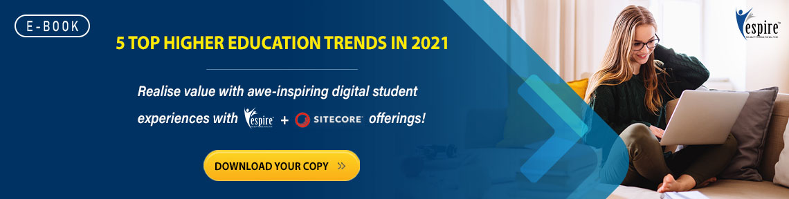 Espire and sitecore higher education offerings blog banner