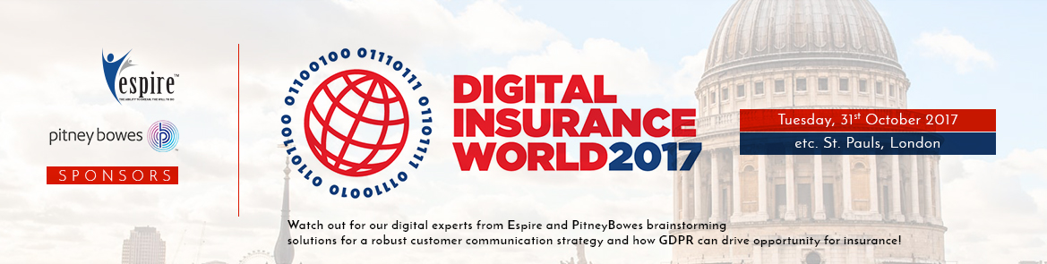 Digital Insurance World London Oct17