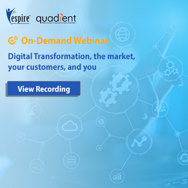 Digital Transformation, the market, your customers, and you
