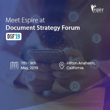 Document Strategy Forum May 2019 Spotlight