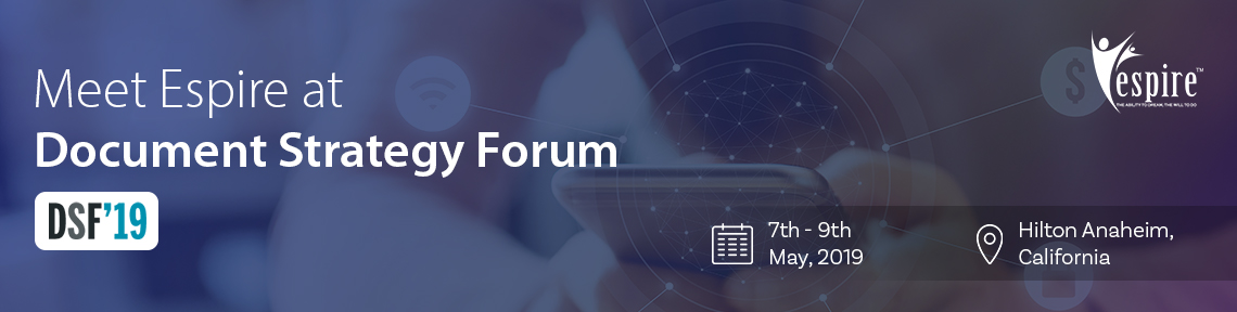 Document Strategy Forum May 2019
