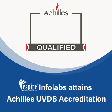 Espire infolabs attains achilles uvdb accreditation