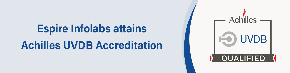 Espire infolabs attains achilles uvdb accreditation