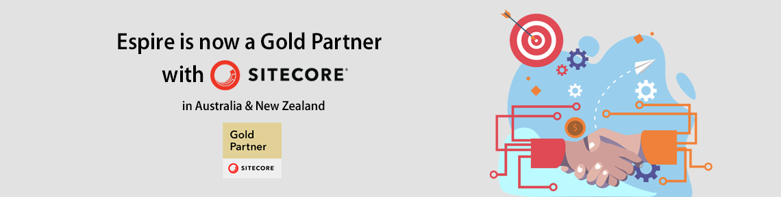 Espire Infolabs now a Sitecore Gold partner in Australia & New Zealand