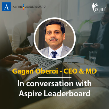 Gagan oberoi interview with aspire leaderboard Spotlight
