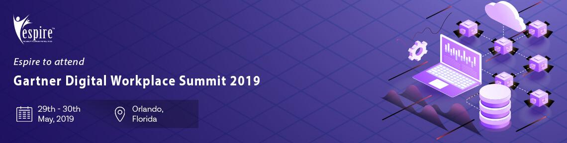 Gartner Digital Workplace Summit 2019