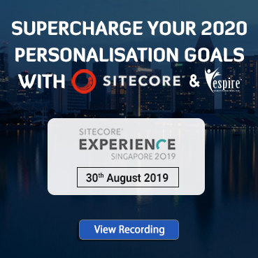 Sitecore experience singapore 30Aug19