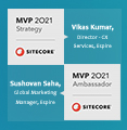 Espire infolabs vikas kumar and sushovan saha named sitecore most valuable professional insight