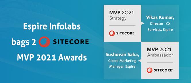 Espire infolabs vikas kumar and sushovan saha named sitecore most valuable professional insight