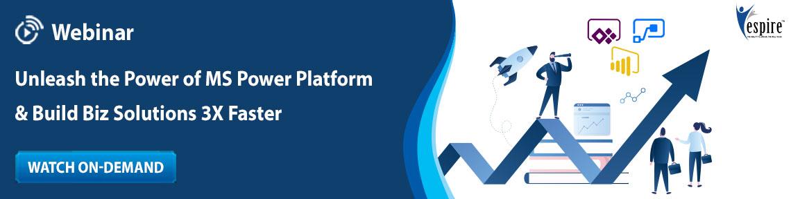Unleash the Power of MS Power Platform & Build Biz Solutions 3X Faster