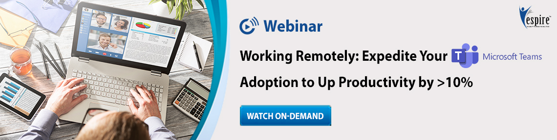 Working remotely expedite your teams adoption blog banner