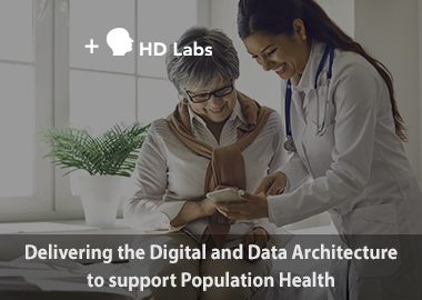 Delivering the digital architecture to support population health