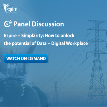 Espire panel discussion series with simplarity spotlight