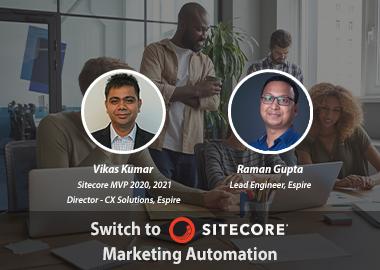 Switch to sitecore marketing automation insight